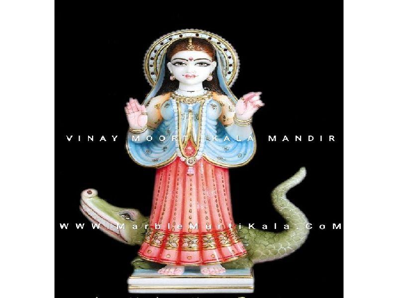 Khodiyar Maa Marble Statue