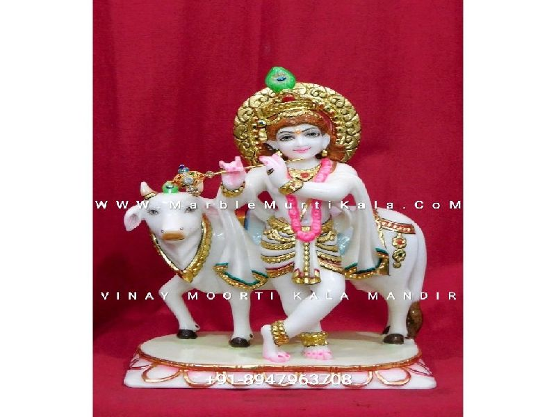 Wholesale Krishna Marble Statue Manufacturer Supplier In Jaipur India