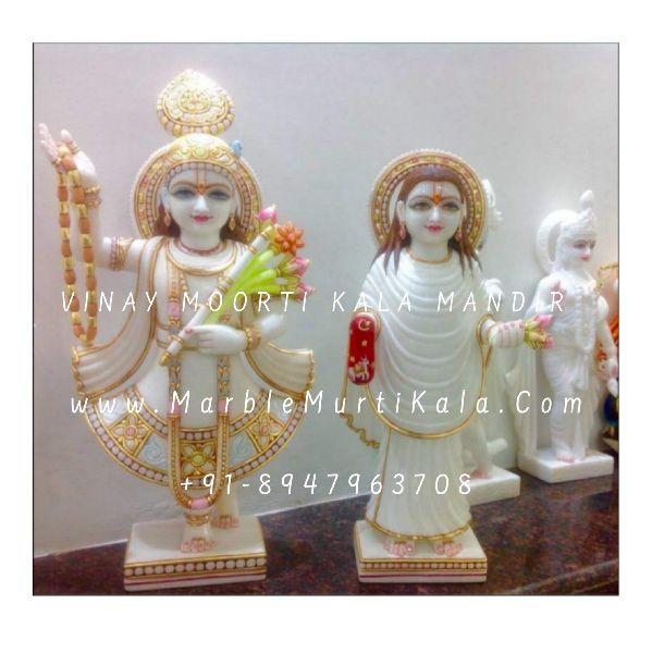 Yamunaji and Mahaprabhuji Statue