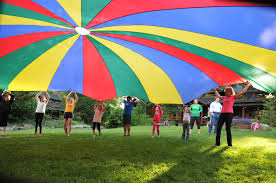24 Feet Kids Play Parachute