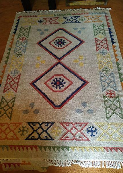 Designer Embroidered Rug