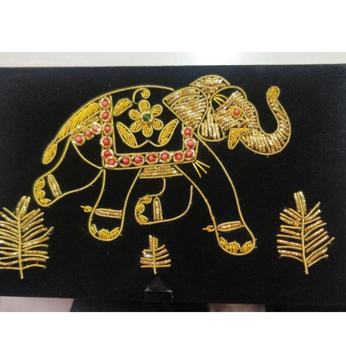 Zardozi Embroidered box