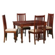 4 Seater solid  Wood Dining Table Set