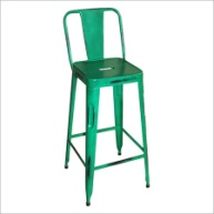 Metal Iron Bar Chair