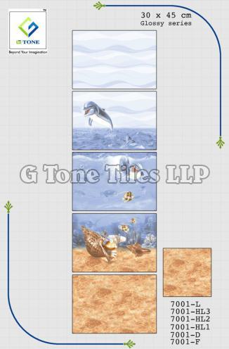 Glossy Series Fish Tiles