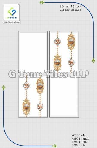 Glossy Series Religious Symbol Tiles