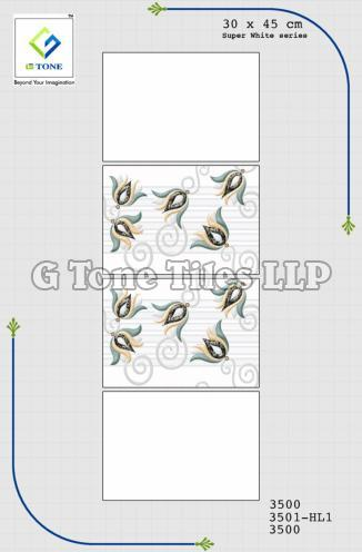 Super White Series Tiles