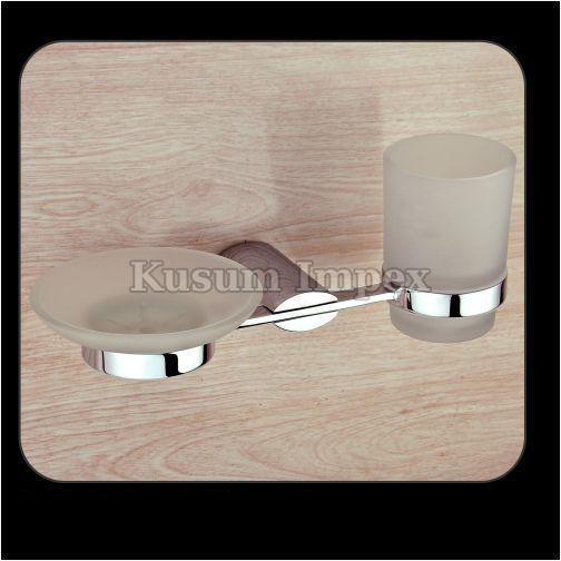 Soap Dish & Tumbler Holder (PR-SD&TH-011)