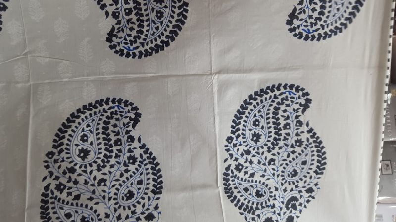 2003 Blue Pottery Bedspread