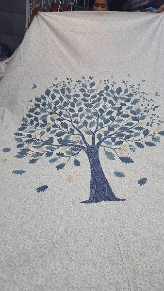 2012 Blue Pottery Bedspread