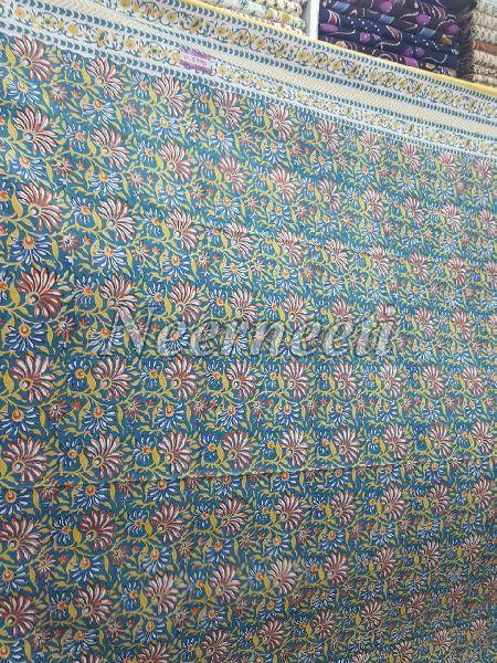 3023 Blue Pottery Bedspread