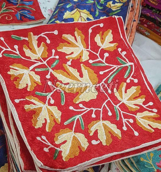 Kashmiri Embroidered Cushion Covers
