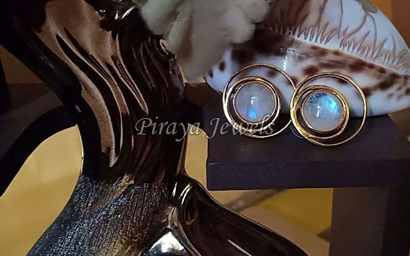 E0002RMS Gold Plated Earrings