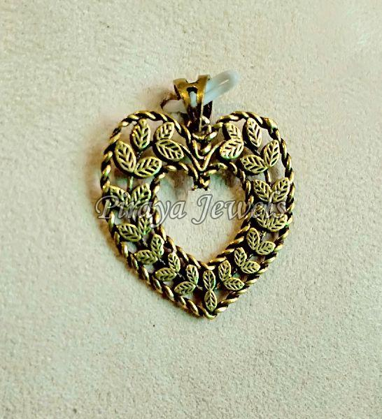 Gold Plated Brass Pendant