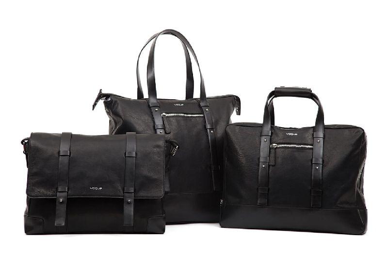 Leather Bag Set