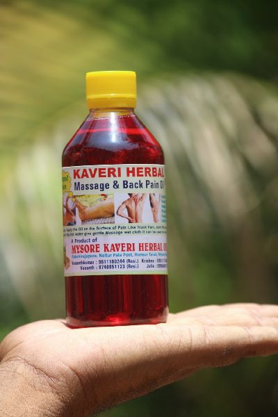 Herbal Pain Reliever Oil