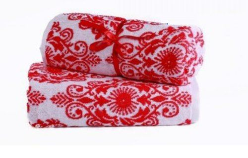 Embroidered Jacquard Towels