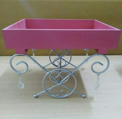 Decorative Wooden Cart