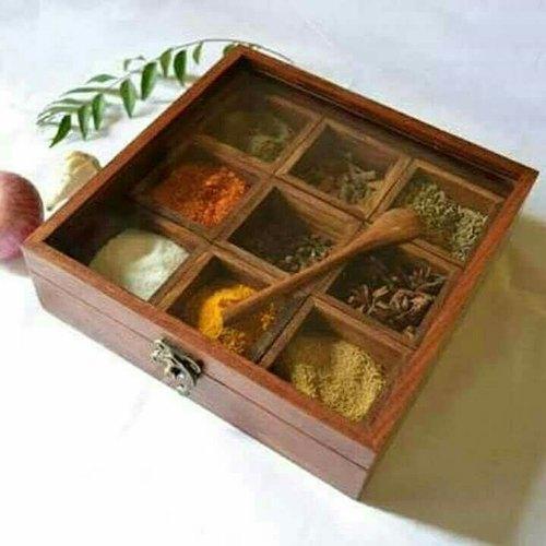 Sheesham Spices Box