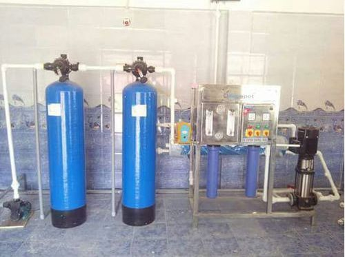 1000 LPH Automatic Reverse Osmosis Plant