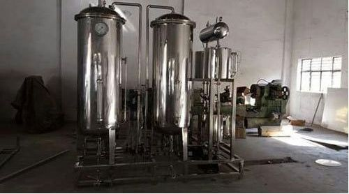 2000 LPH Stainless Steel Reverse Osmosis Plant