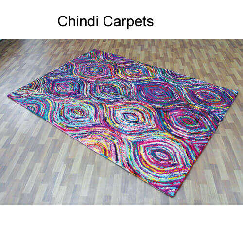 Handcrafted Cotton Chindi Rug