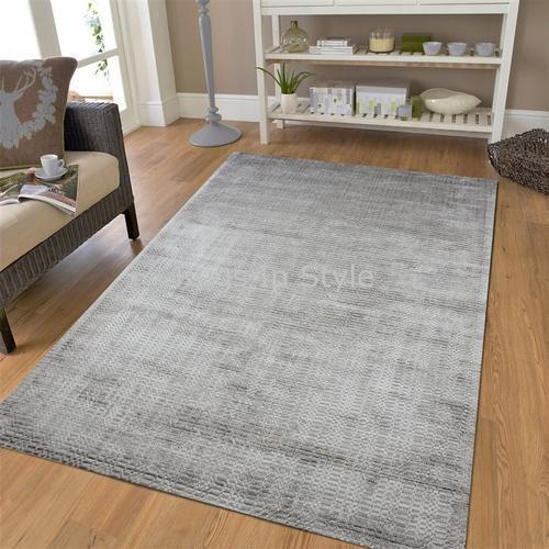 Handloom Viscose Designer Carpet