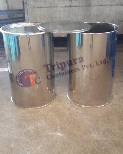 200 Liter Stainless Steel Barrel