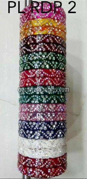 Acrylic Diamond Bangles