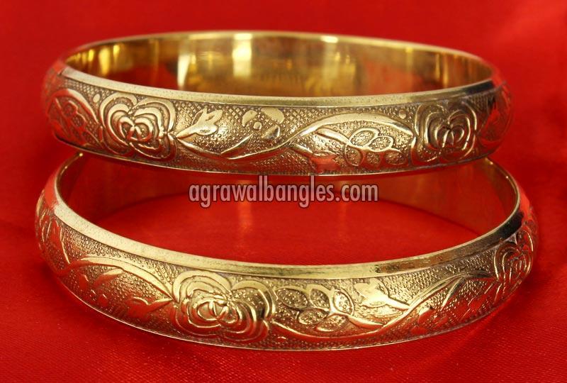 Brass Meenakari Bangles