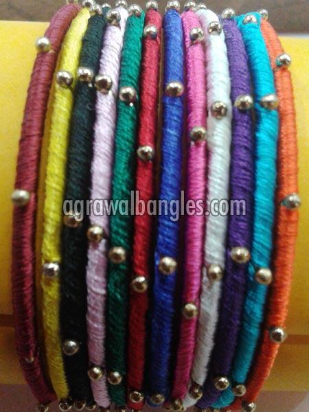 Iron Thread Bangles