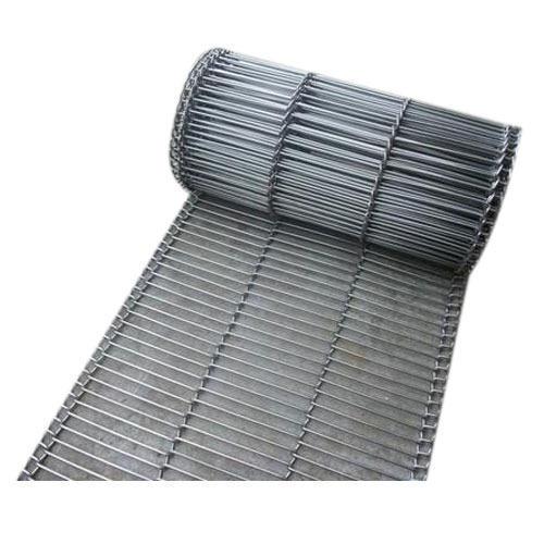 Flattened Wire Conveyor Belt