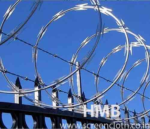 Razor Blade Wires