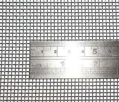 Stainless Steel Woven Twill Weave Wire Mesh