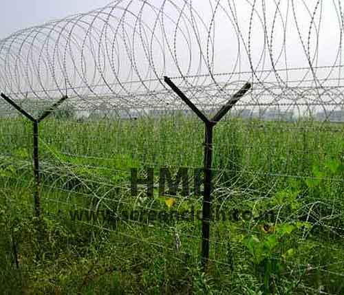 Wire Concertina Fencing