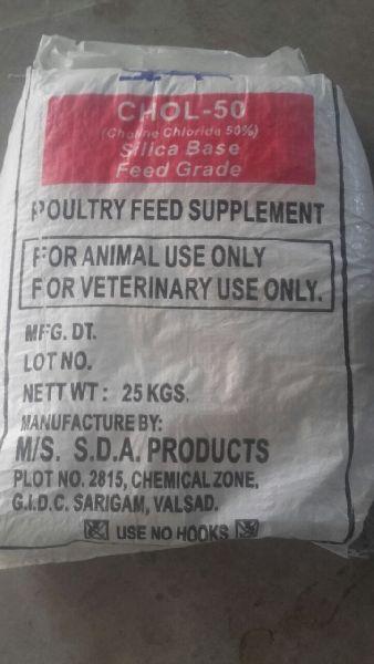 Choline Chloride 60% Cereal Base Feed Grade