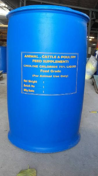 Choline Chloride 75% Liquid Feed Grade