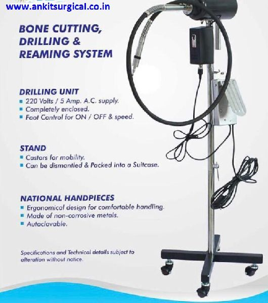 Bone Drilling Cutting & Reaming Systems