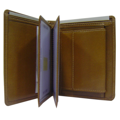 Article No 10621-D Ladies Leather Wallet