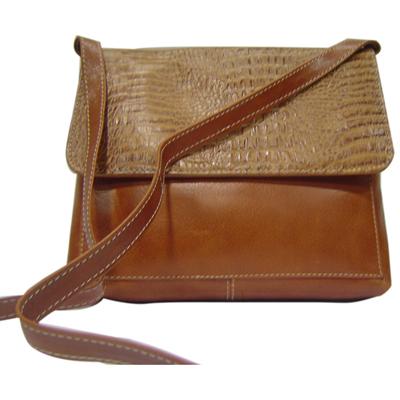 Article No 0801 Brown Ladies Leather Sling Bag