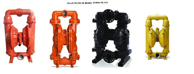 Aluminium Air Operated Diaphragm Pump
