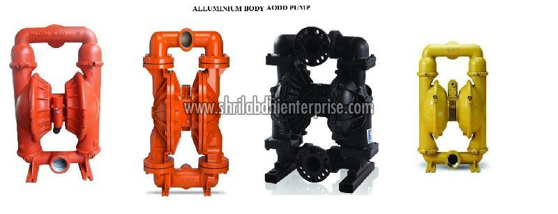 Aluminium Air Operated Diaphragm Pump