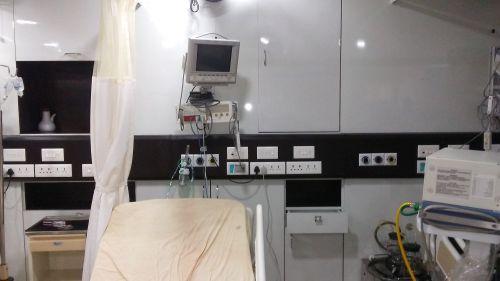 ICU Bed Head Panel