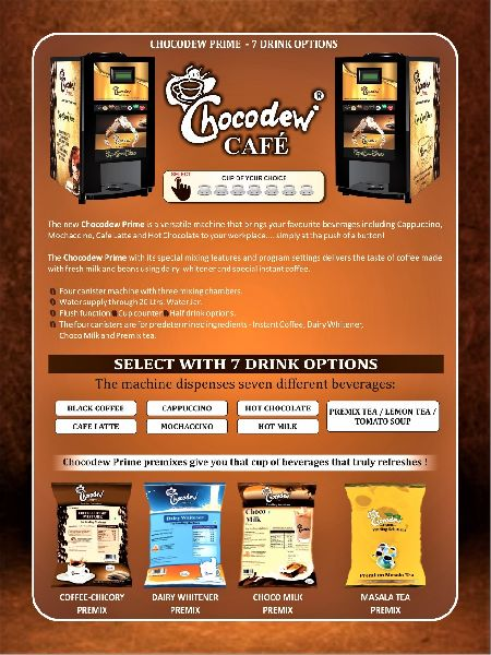 Prime Coffee Vending Machine