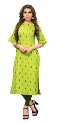 Ladies Green Kurti