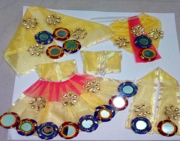 Radha Krishna Designer Dress