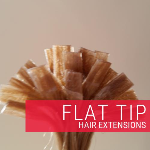 Single Drawn Flat Tip Hair Extensions