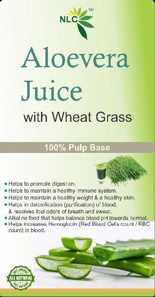 Aloe Vera Juice with Wheatgrass