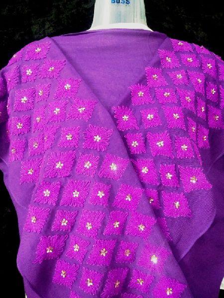 Woolen Embroidered Stole