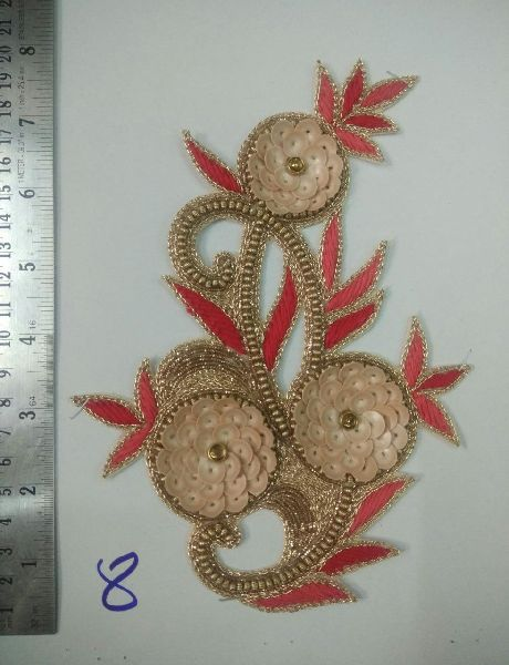 Handmade Zari Patch 05